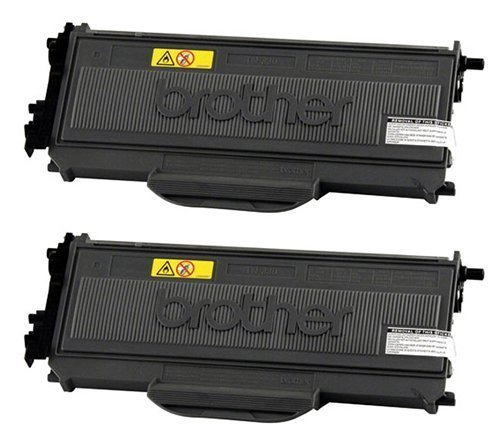 Genuine Brother TN330 (TN-330) Black Toner Cartridge 2-Pack