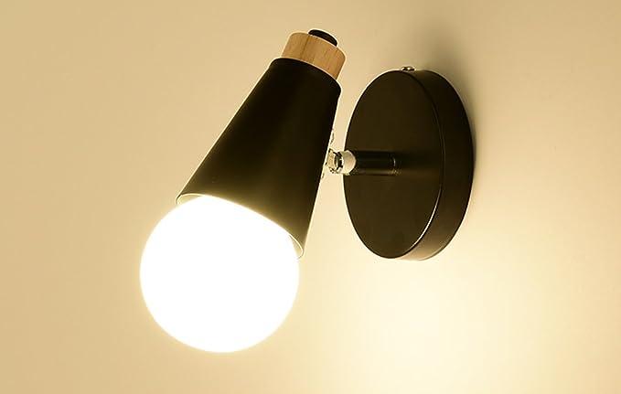 Dfhhg® lampada da parete lampada da parete semplice da letto a muro