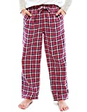 TINFL Big Boys Ultra Soft 100% Cotton Flannel Winter Lounge Pants With Pocket