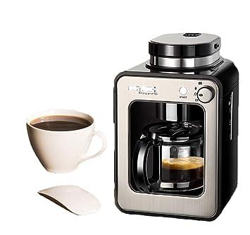 SLONG Mini cafetera, 3-5 Taza de café máquina, programable, Aislado Completamente automático de la máquina de café Americano: Amazon.es: Hogar