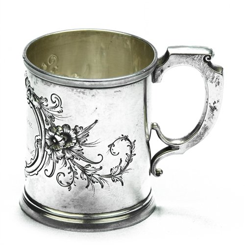 - Child's Cup by Wood & Hughes, Sterling