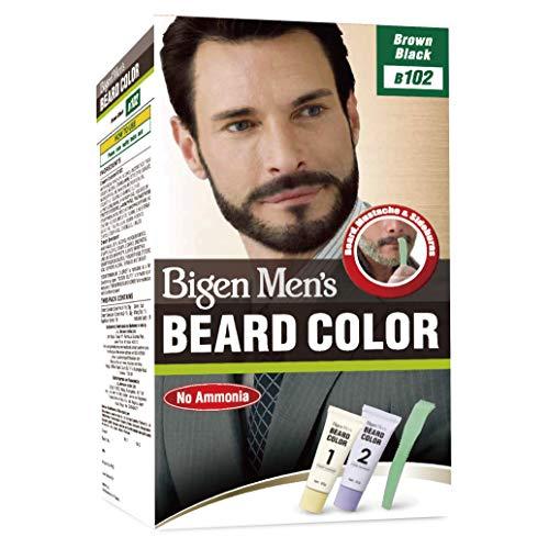 Hoyu Co. Bigen Men's Beard Colour Brown Black B102 (Bigen Mens Beard Colour Natural Black B101)