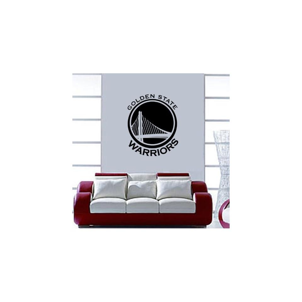 Golden State Warriors NBA Vinyl Decal Sticker / 16 x 13.2