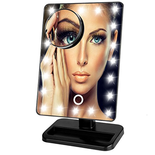 Luckybird Dimmable magnifying Mirror battery included product image