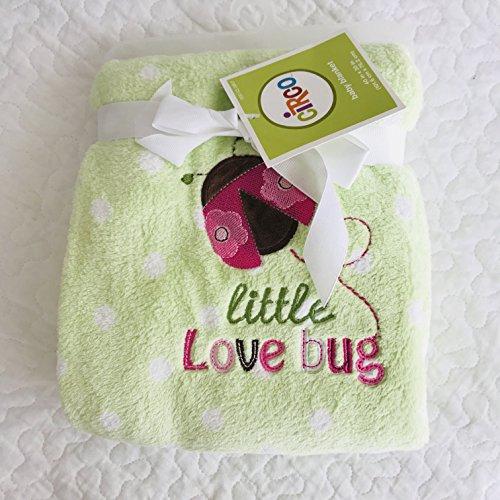 little love bug baby blanket