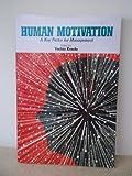Human Motivation, Yoshio Kondo, 4906224644