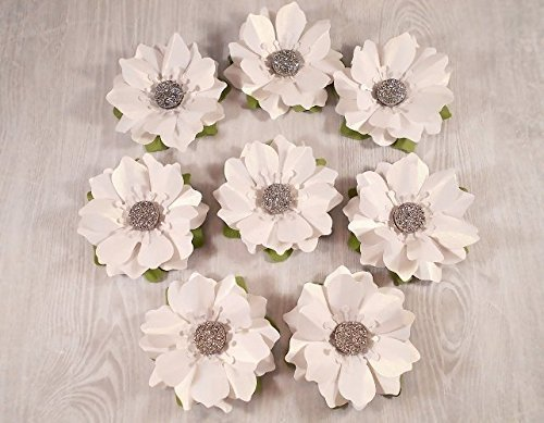 Amazon 12 Paper Flowers Gift Toppers Scatter Flowers Table