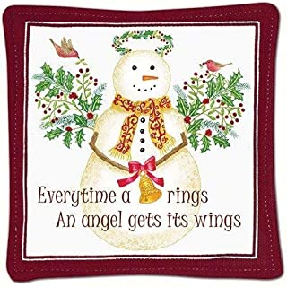 product image for Alice's Cottage Snow Angel Single Mug Mat