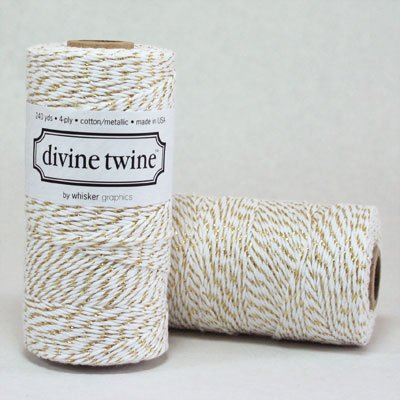 Gold METALLIC Divine Twine by Divine Twine