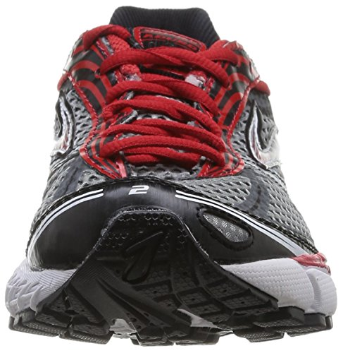 Brooks - 110169 D035 - Chaussures, grey / rouge / noir, taille 45