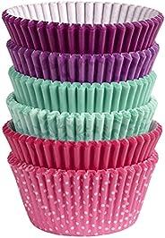 Wilton Copas de assar, padrão, 150 unidades, várias cores