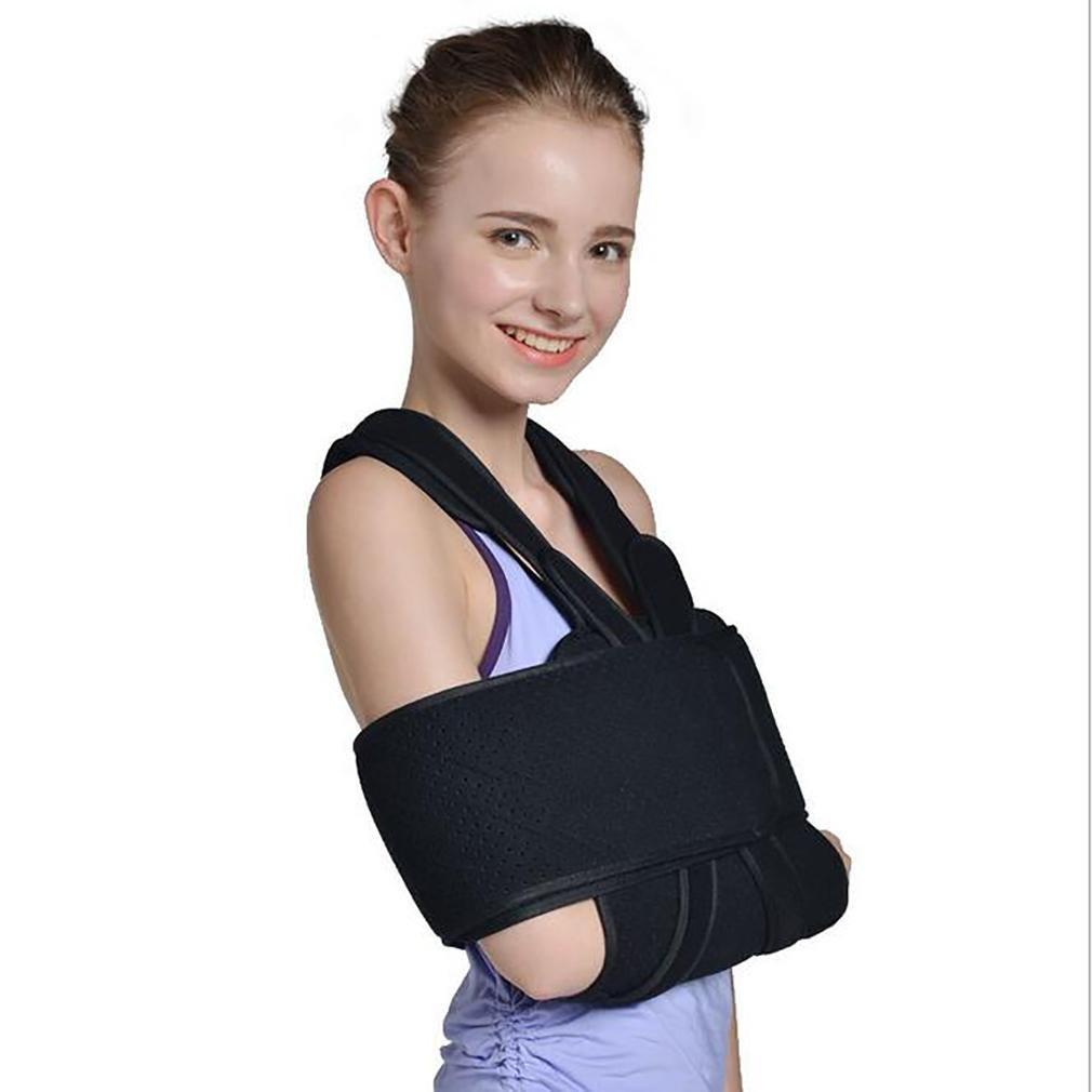 LPY-Universal Medical Shoulder Arm Sling Swathe Brace Reinforced Immobilizer Broken Arm Fracture Shoulder Dislocation