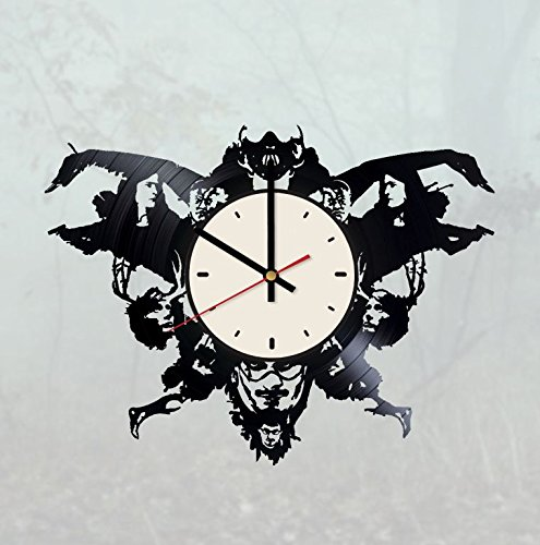 Rorschach Test Vinyl Wall Clock Hannibal Lecter Unique Gifts Living Room Home Decor