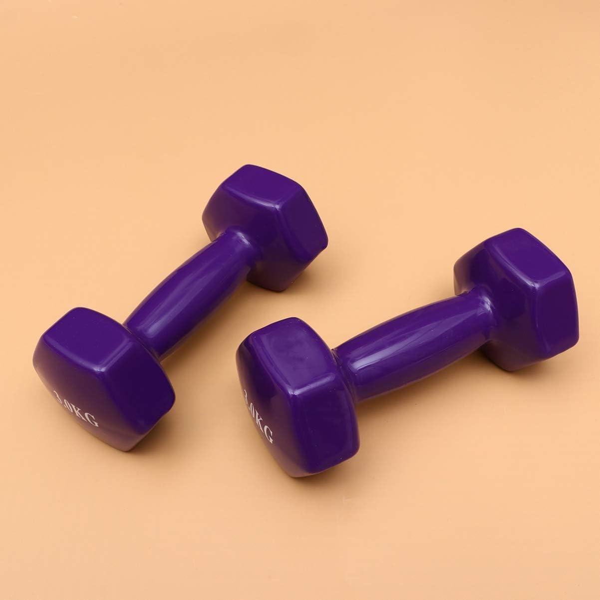 Garneck M/üsseniges Fitnesszubeh/ör Metallbeschichtete Kurzhanteln Hanteln f/ür Das Gewichtheben im Fitnessstudio Mehrere Spezbezogene des Muskeltrainers Gewicht 0,5 Kg, Zwei