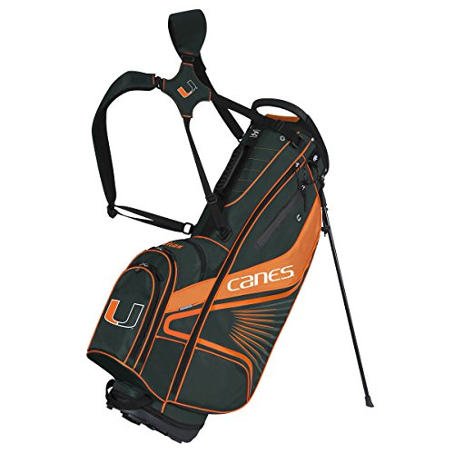 Team Effort Miami Hurricanes Gridiron III Stand Bag