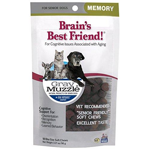 Ark Naturals Gray Muzzle Brain's Best Friend!, 90 Soft Chews, 3.17 OZ