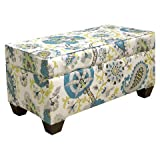 Skyline Furniture Ladbroke Storage Bench - Multicolored