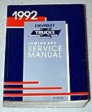 1992 Chevrolet Lumina APV Van Servcie Manual
