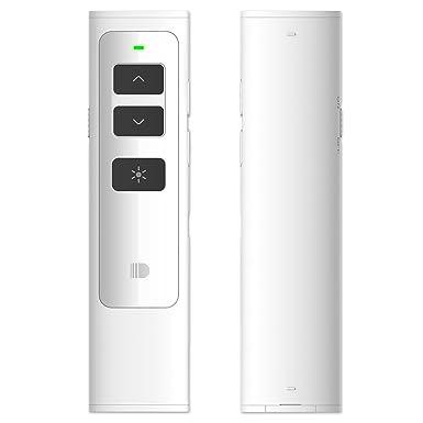 doosl wireless presenter 2 4ghz rechargeable powerpoint remote