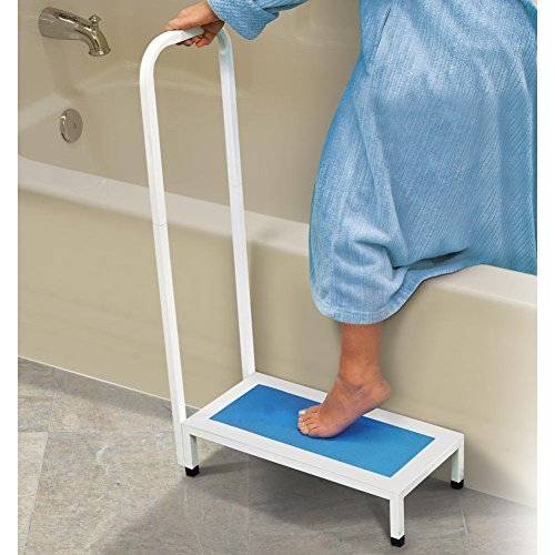North American Healthcare - Bath Step, Supports Up to 500 lbs, Non-slip (North Safety Grip)