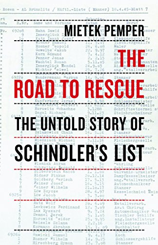 The Road to Rescue: The Untold Story of Schindler's List cover