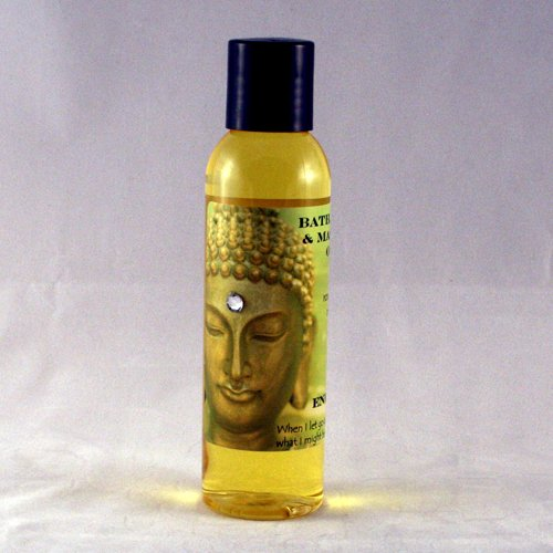 Gardenia 4 oz Organic Bath, Body & Massage Oil