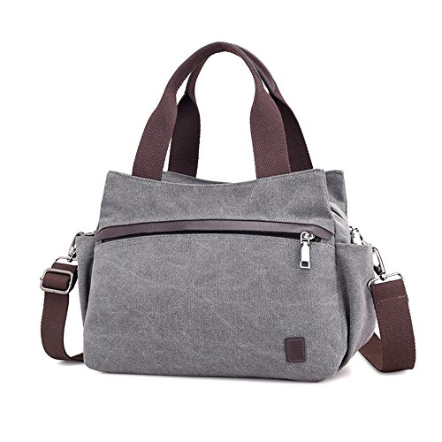 Loisirs Sac à Canvas Bag Convient Usage bandoulière capacité pour Grande Un capacité Grande Quotidien rétro Commuter Asdflina Couleur EXUSw