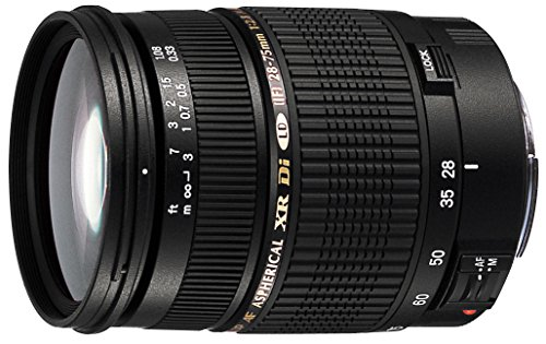 1. Tamron AF 28-75mm f/2.8 SP XR Di LD Aspherical (IF) for Canon Digital SLR Cameras