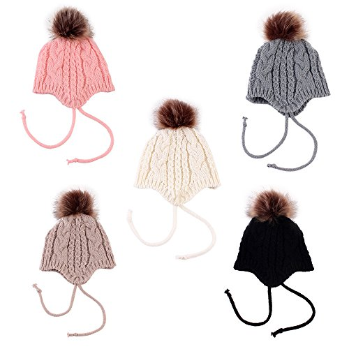 best Gorro de bebé recién nacido Sombreros para niños Linda Otoño invierno  Casual De punto Lana 2ca8c6266e1