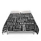 Society6 Just Dance! Duvet Covers Full: 79'' x 79''
