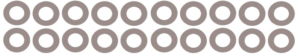 1//8 Thick Pressure Class 300# Pack of 50 5.56 ID 5 Pipe Size Sterling Seal CRG7540.5IN.125.300X50 7540 Vegetable Fiber Ring Gasket