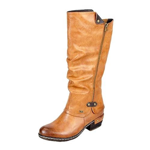 Rieker Antistress Women's Bernadette Tall Boot 93655 Cayenne