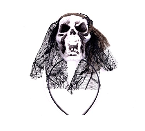 Cute Ideas For Halloween Women (Halloween Hair Accessories Halloween Head Bands with Skull Halloween Headpieces)