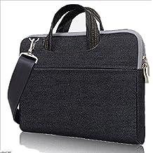 Black Denim Shoulder Messenger Bag for The new MacBook 12-inch / iPad Pro 12.9 / Apple MacBook Pro 11.6'' 13'' / Lenovo Yoga 3 Pro / Yoga 900 13.3-inch Laptop
