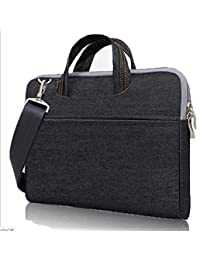 eBuymore Felt Messenger Shoulder Bag Briefcase for The new MacBook 12-inch / iPad Pro 12.9 / Apple MacBook Pro 13.3-Inch / HP ASUS Lenovo Dell Acer Toshiba 13 13.3 inch Ultrabook Netbook Laptops
