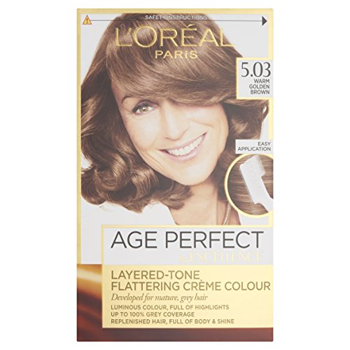 L'Oreal Excellence Age Perfect 5.03 Warm Golden Brown Hair Dye