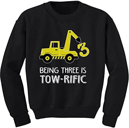 Construction Tractor Birthday Party Toddler Shirt
