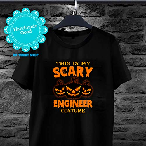 This Is My Scary Engineer Costume Halloween T shirts for men and women -