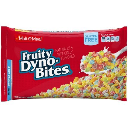 Malt-O-Meal Gluten Free Cereal, Fruity Dyno Bites, 65 Oz, ()