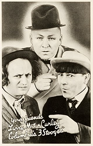 "Three Stooges Promotional Photo Poster Replica 13x19/"" Photo Print"