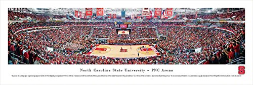 North Carolina State Basketball - Blakeway Panoramas Unframed College Sports Posters
