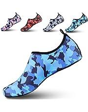 ziitop Hommes D'Été Chaussures De l'eau des Femmes Nager Pieds Nus Chaussures À Séchage Rapide Aqua Chaussettes Yoga