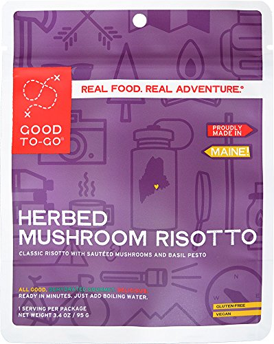 Good To-Go Herbed Mushroom Risotto (Single Serving) (Good Single)