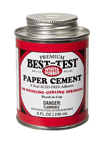 Best-Test Premium Paper Cement 8OZ Can - Best Cement Rubber Test