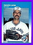 1987 Fleer #233 Dennis Lamp TORONTO BLUE JAYS