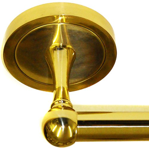 """Taymor Industries 18"""" Towel Bar Stainless Steel Polished Brass Finish - Item #IA4L-TMRPB8818"""
