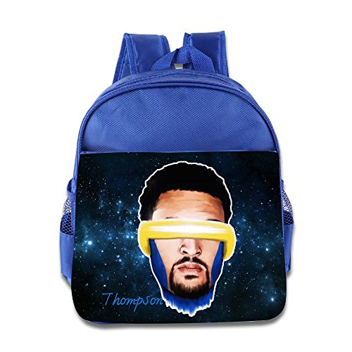 Logon 8 Oakland California Cool Thompson Cool School Bags RoyalBlue For 3-6 Years Olds Kid
