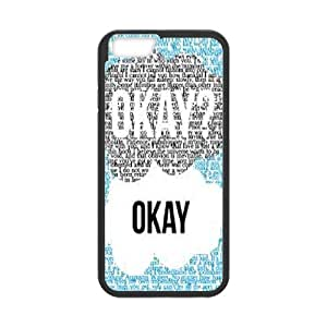 """The Fault In Our Stars OKAY OKAY Phone Case For Apple Iphone 6,4.7"""" screen Cases KHR-U578330"""