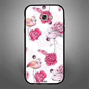 Samsung Galaxy A7 2017 Rose and Swan