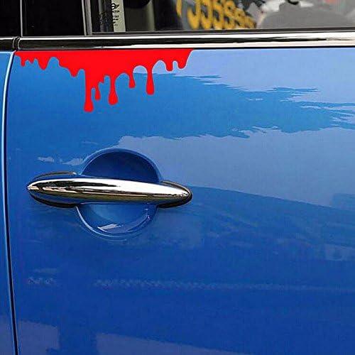 Adesivo sticker SANGUE ROSSO decalcomania vinile auto moto camion car tuning